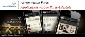 Application mobile Paris Lifestyle