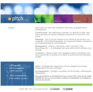 Les services de Pitch.net