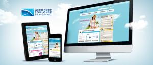 Image de présentation du site Aéroports Toulouse Blagnac