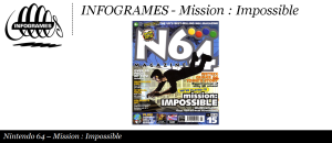 Infogrames - Mission Impossible N64